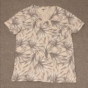 Pink by Victoria's Secret Palm Leaves T-Shirt - M